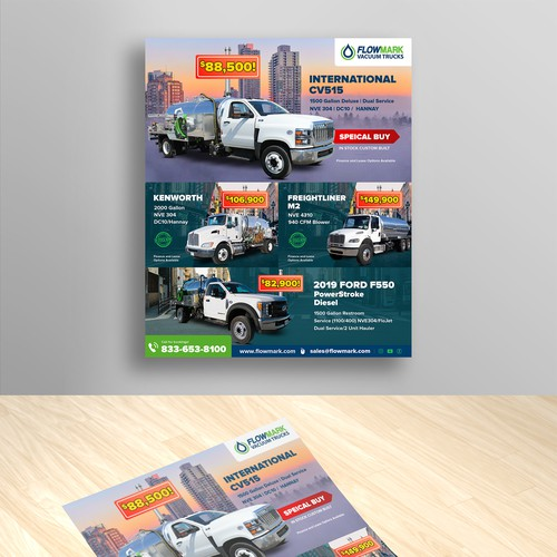 Magazine ads for Truck