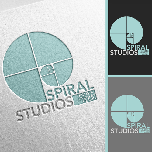 My interior design business, Spiral Studios, is growing up and expanding and needs a logo to match!