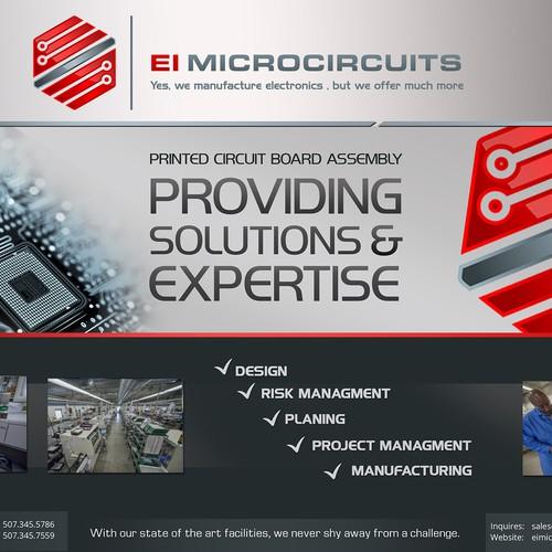 bilbord for electronis company