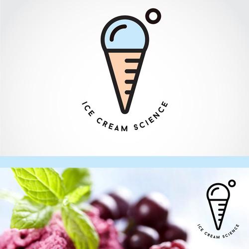"""Logo Design for """"Ice Cream Science"""""""