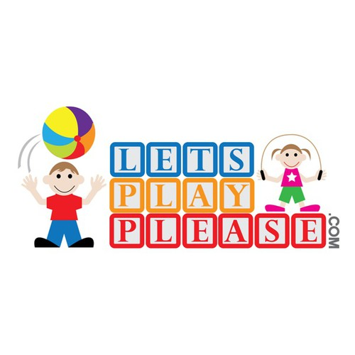 "Logo for ""Lets Play Please"""