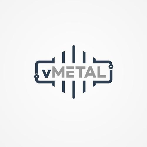 Geometric logo for data exchange