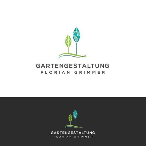 Logo concept for a gardener