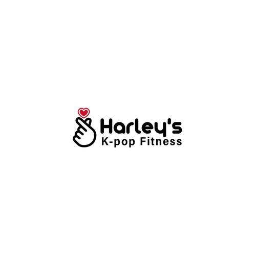 Logo Harley´s K-pop fitness