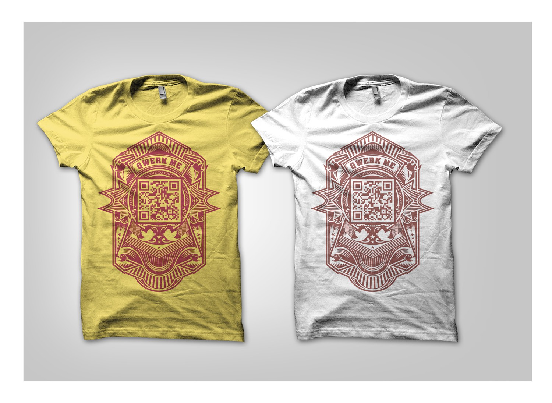 Looking for Trendy QR TShirt Design!!