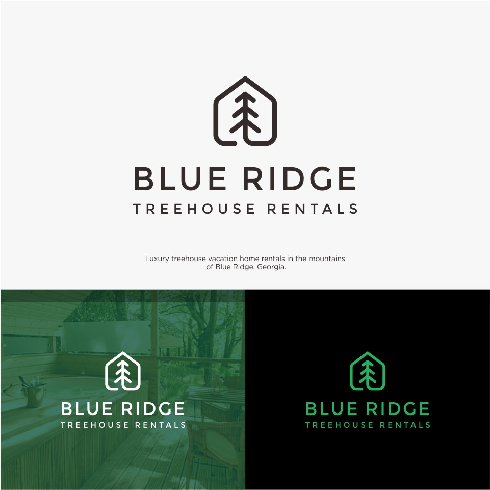 Luxury treehouse vacation home needs a simple logo