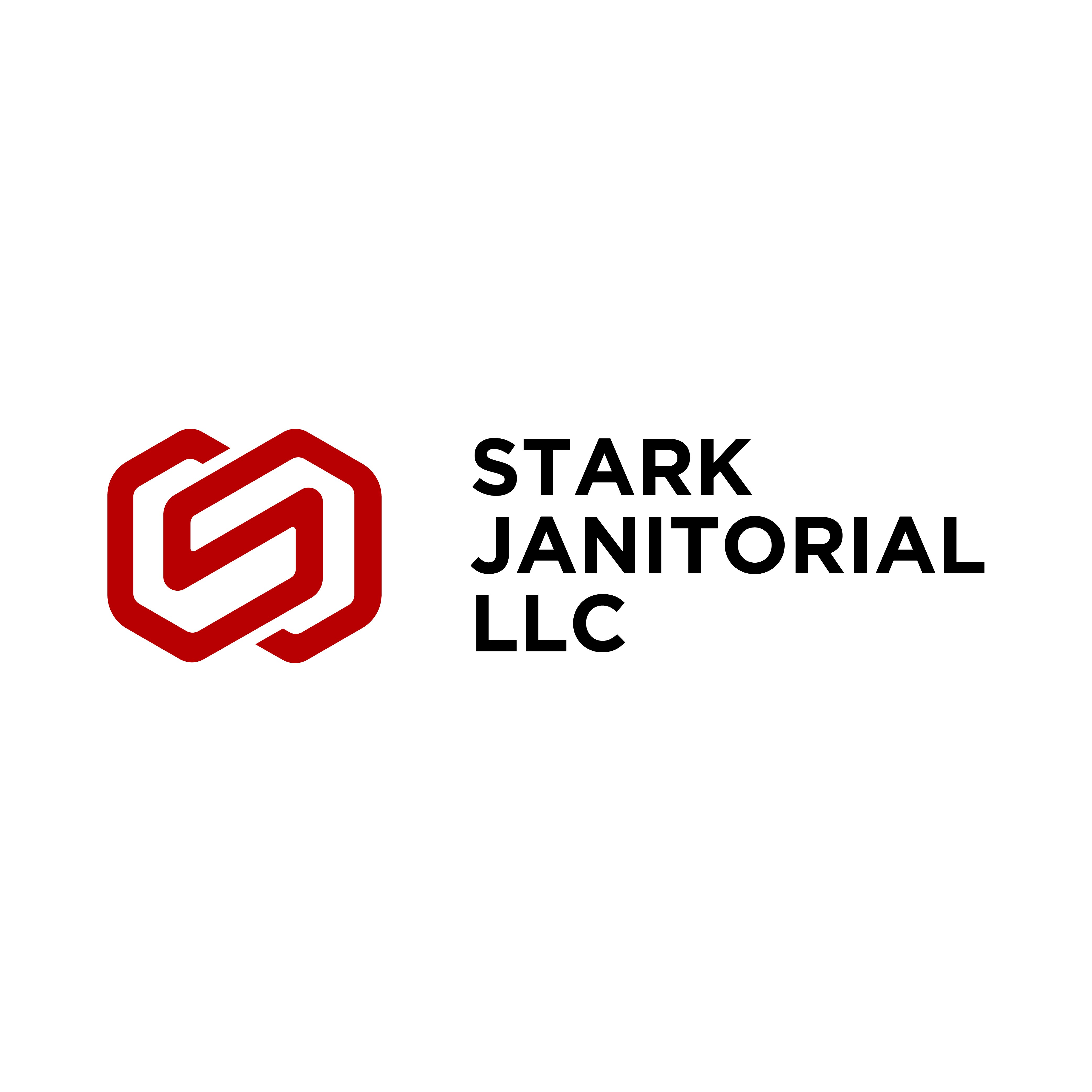 Exciting new start up logo design! Stark Janitorial!