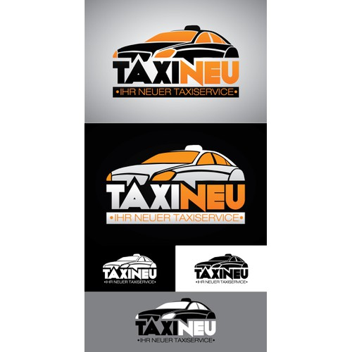 Create the next logo and business card for Taxi Neu
