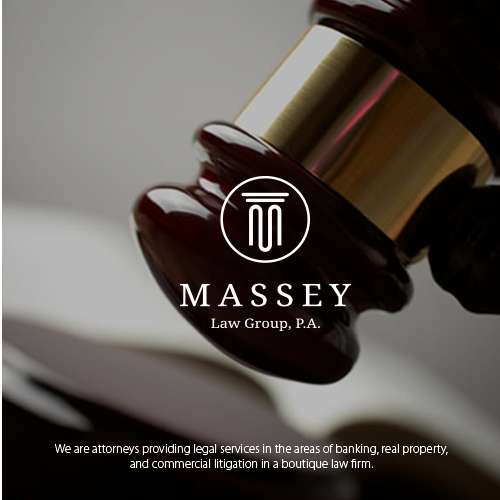 Business law firm logo