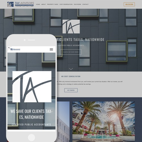 Rebranding and Squarespace Website Design for Tax Professionals