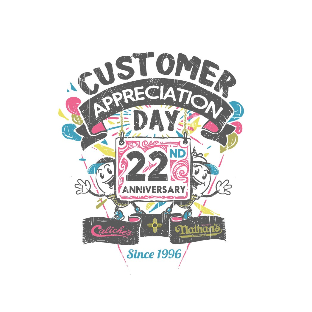 Caliche's Frozen Custard's Customer Appreciation Day Shirt!