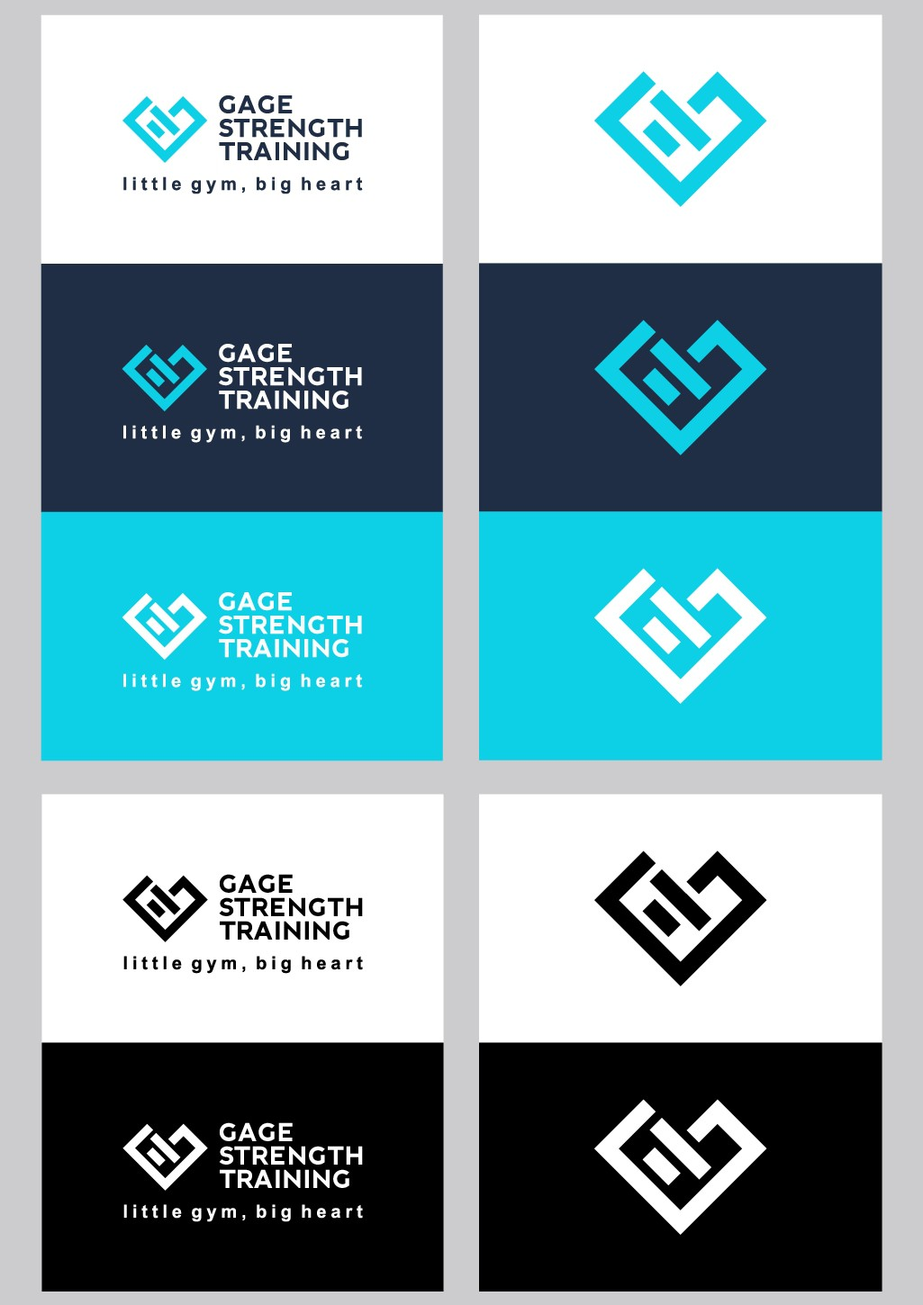 Luxury Fitness Facility Logo and Branding!