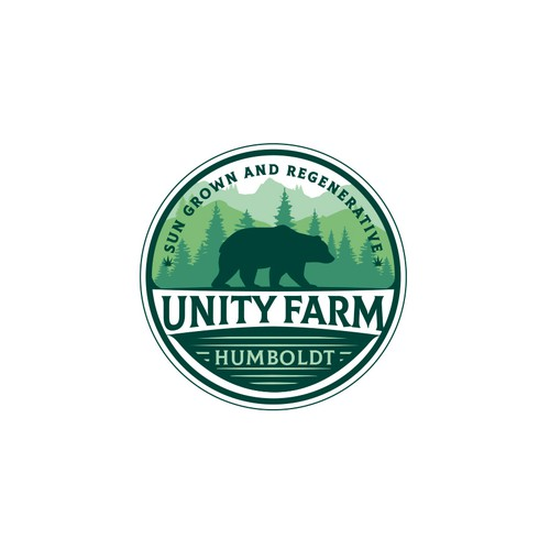 Unity Farm Logo Design