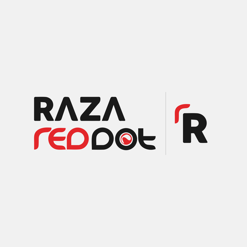 Logo that infuses two major companies, Raza and RedDot
