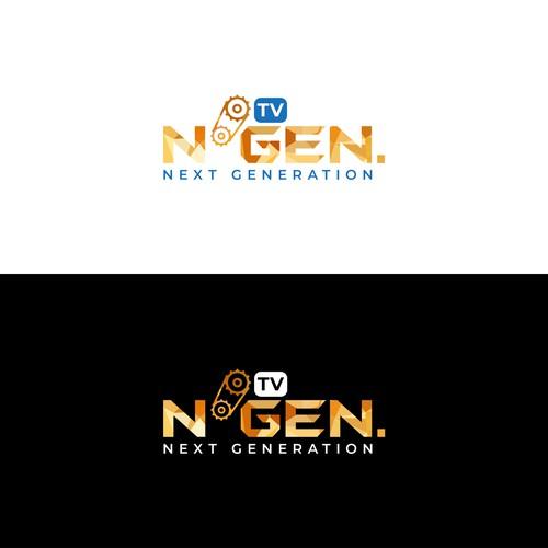 Geometric-Bold logo for TV program