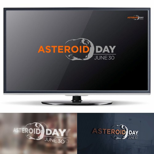 Asteroid Day Logo for Asteroid Day Event