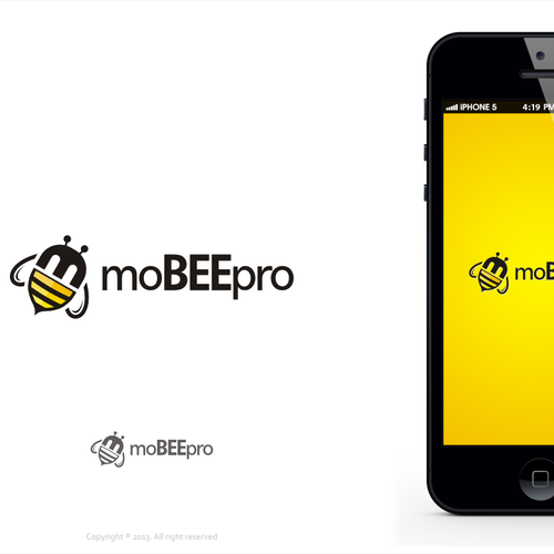 Logo design for mobile app