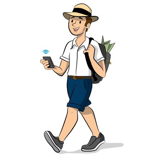 Character design - Traveler