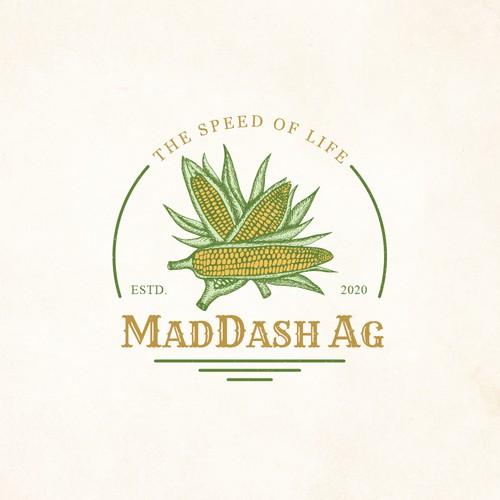 MadDash Ag Logo Desing
