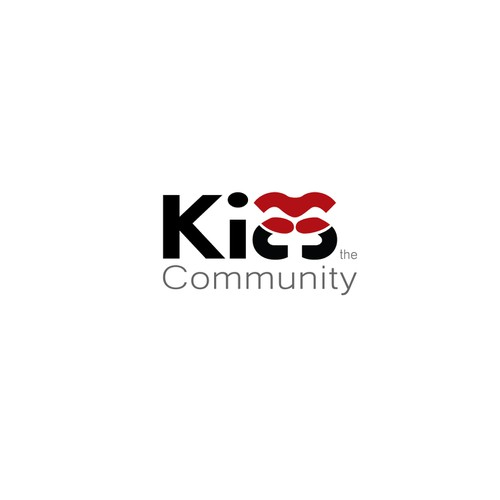 UPDATED - Kiss the Community Logo