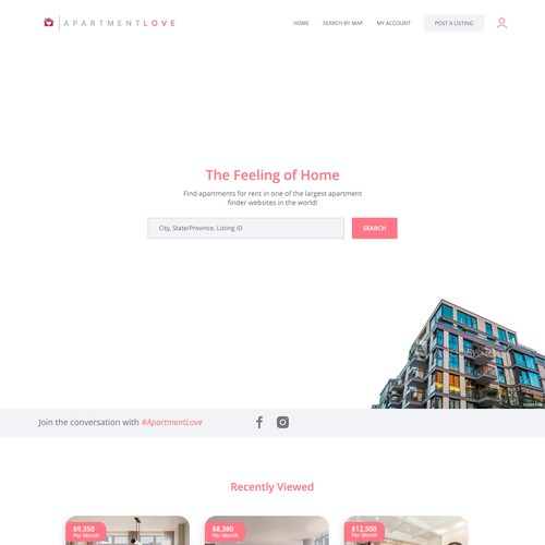 Apartment Renting Website