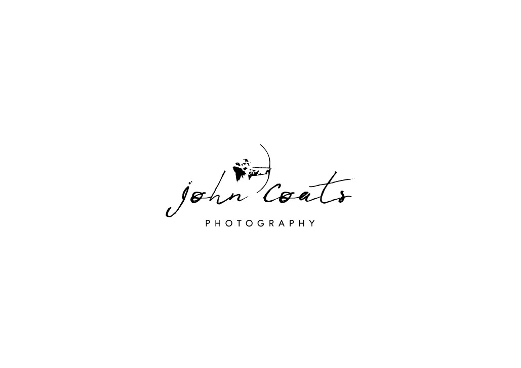 Create a personal photographic website logo for a bowhunter/wildlife photographer/conservationist.