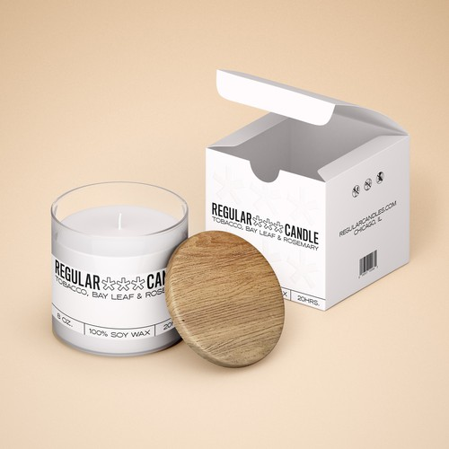 design for aroma candle