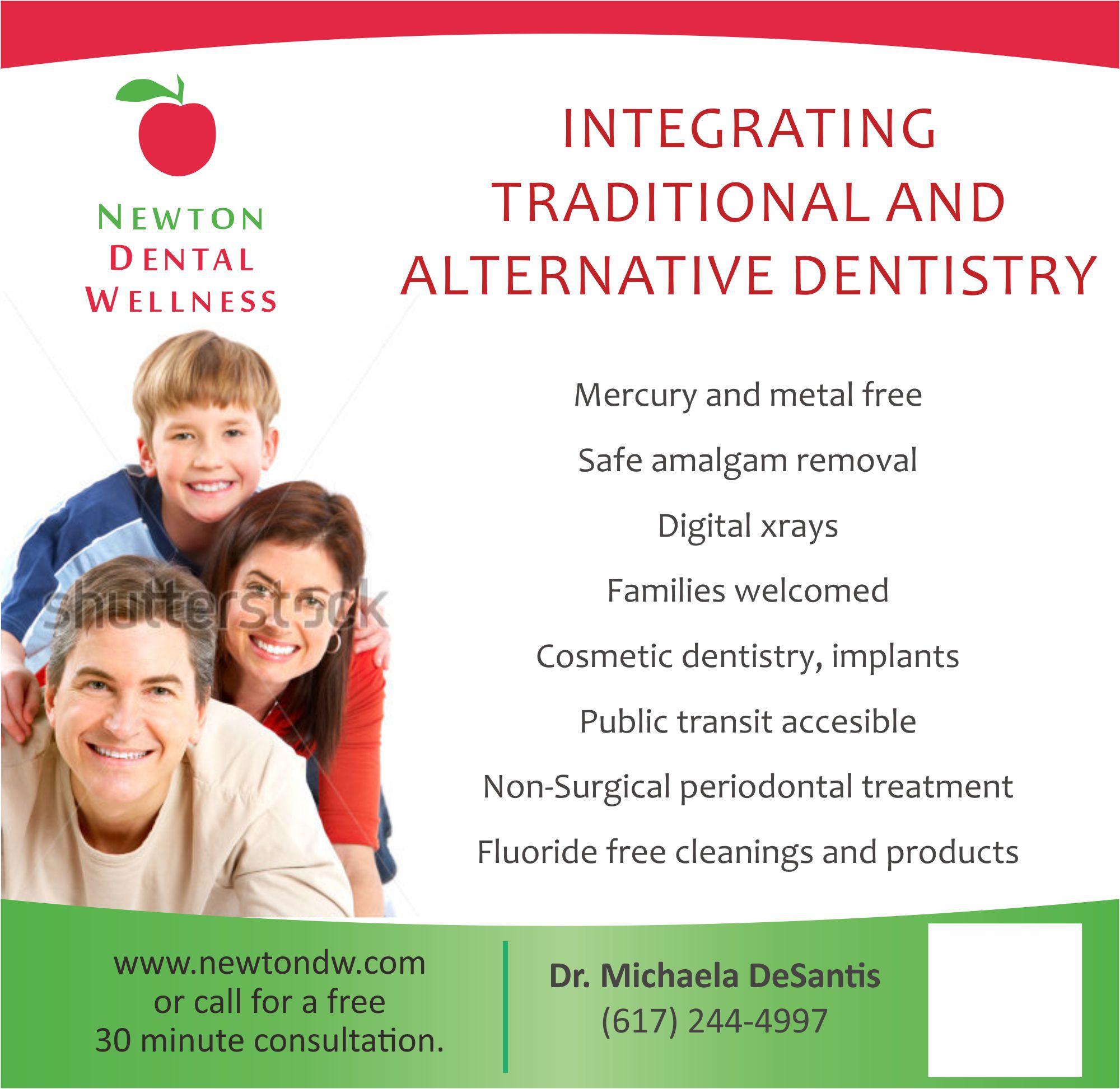 Create the next illustration for Newton Dental Wellness