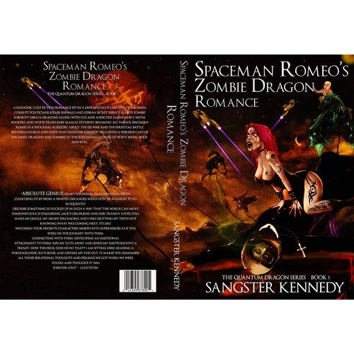 Spaceman Romeo's Zombie Dragon Romance