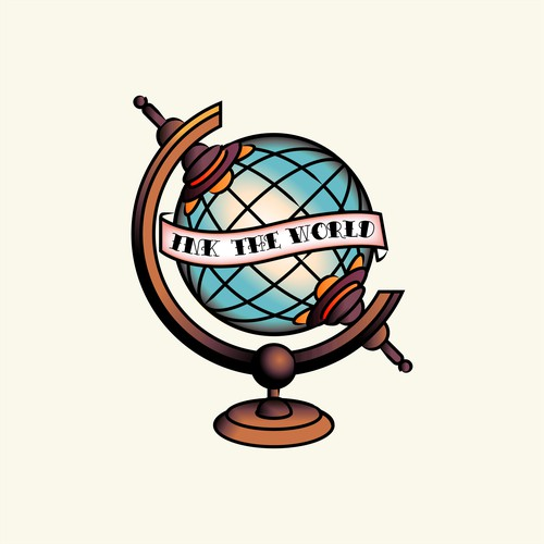 Ink The World logo