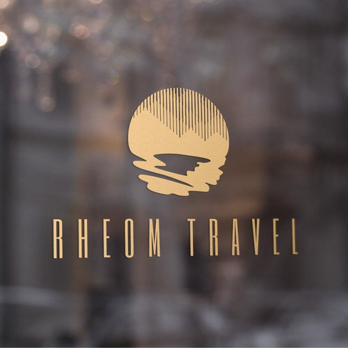 Evocative, refined mark for luxury travel company