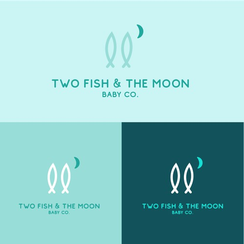 Two Fish & the Moon Logo