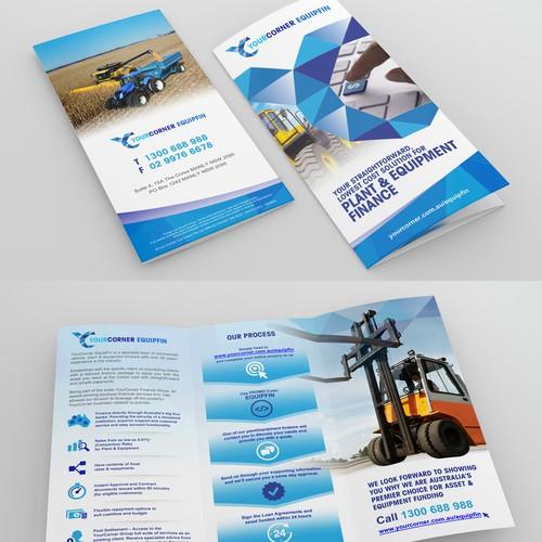 Design a Brochure for YourCorner