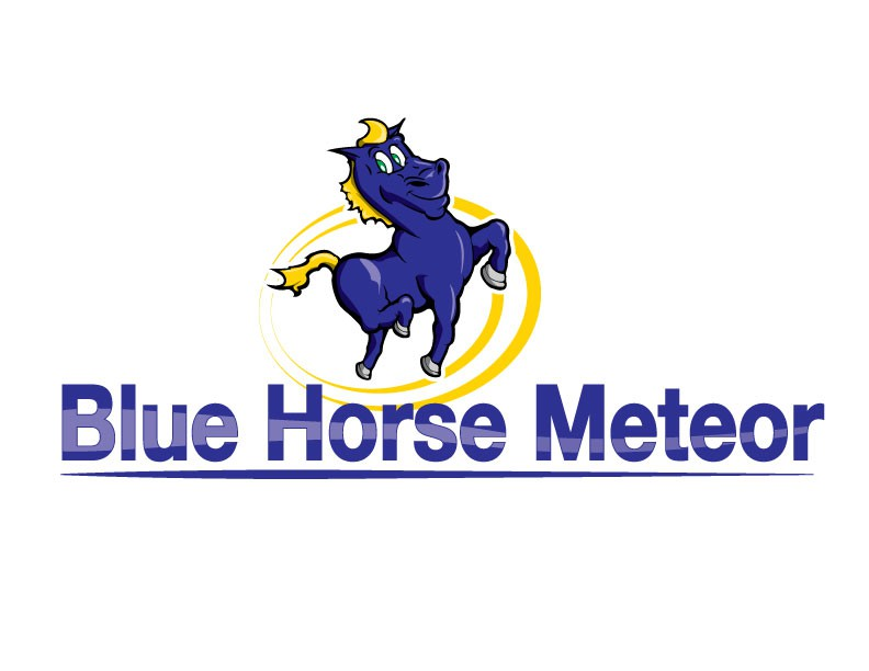 Create the next logo for Blue Horse Meteor