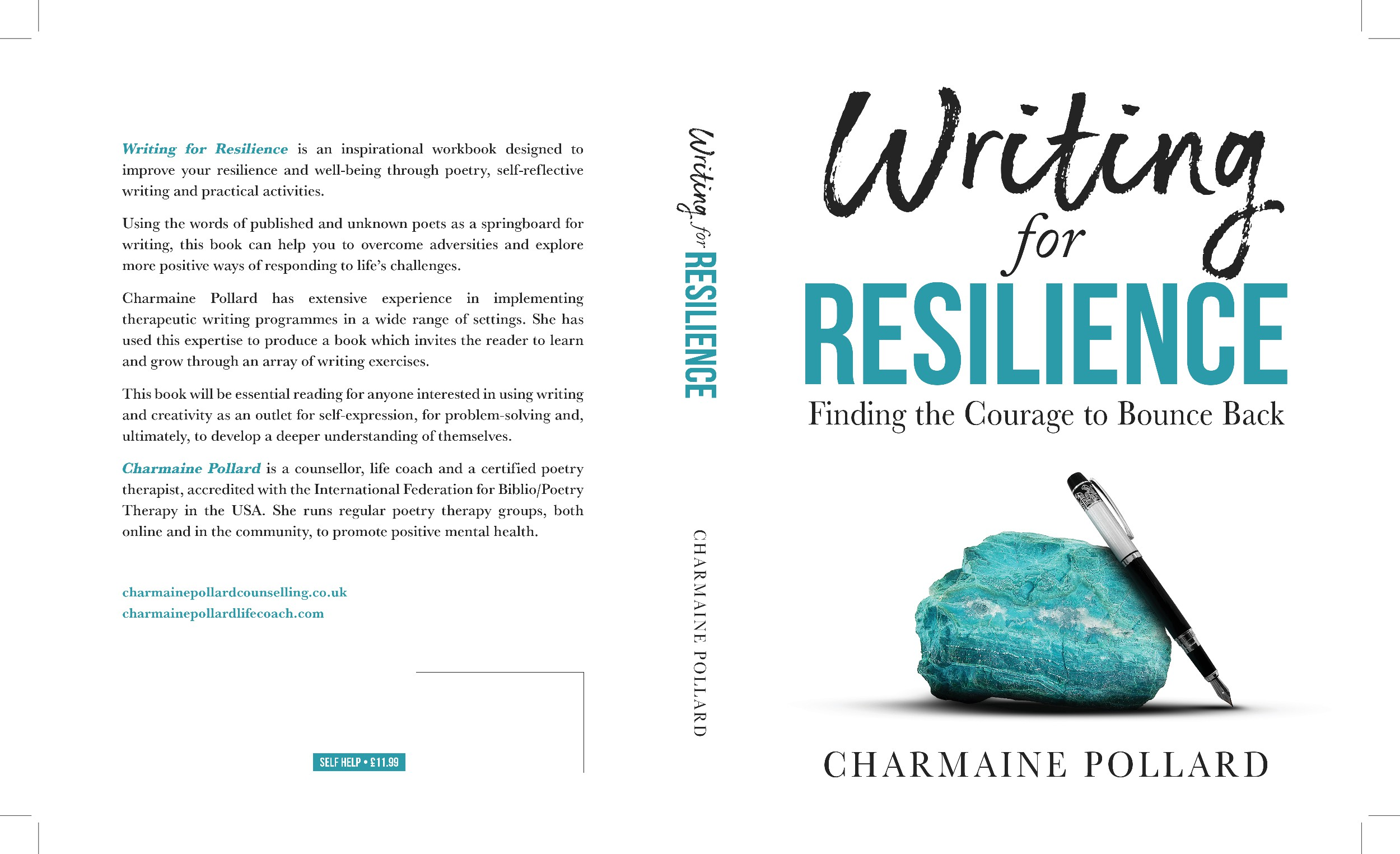 Author requires a stunning book cover for a resilience workbook