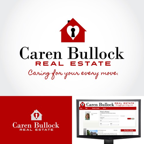 Create a sophisticated logo for a North Carolina Realtor