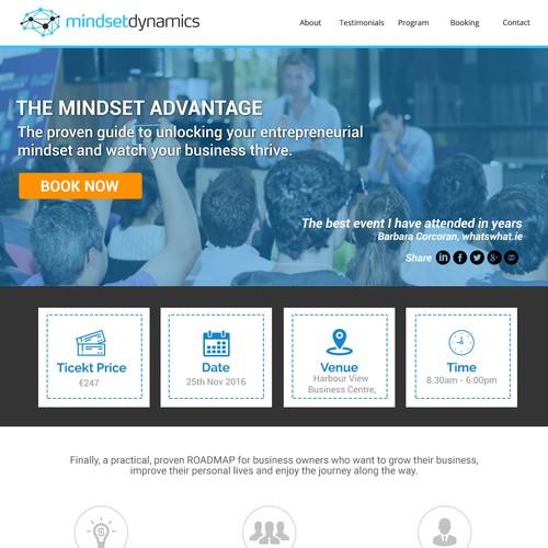 Mindset Dynamics - Landing Page