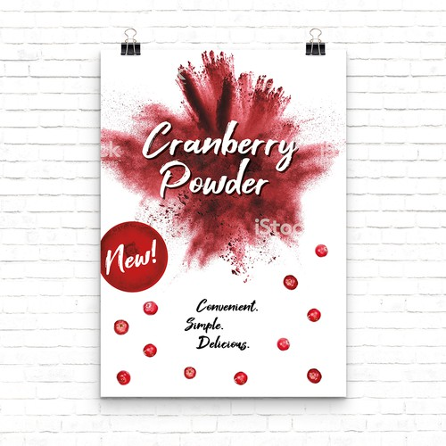 Poster for Cranberry Powder