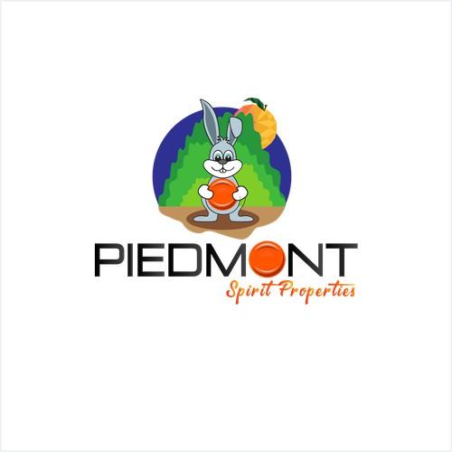 Logo design for peach city park,