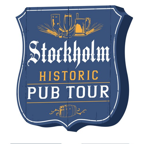 Logo for Historic Pub Tour in Stockholm