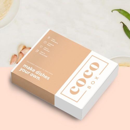 Box Design for Meal Kit
