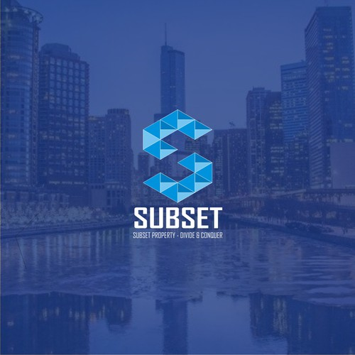 Logo Concept for Subset Property
