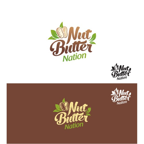 Logo for New Gourmet Nut Butter Brand
