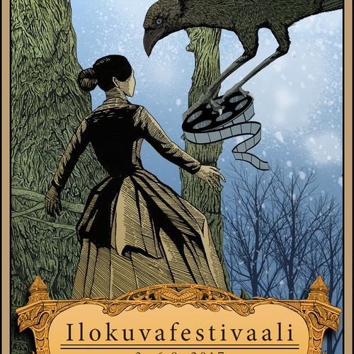 poster illustration for film festival