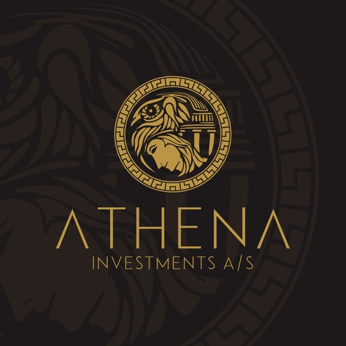 custom logo for Athena Investment A/S