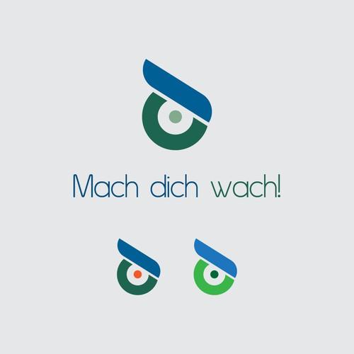 Mach dich wach! - Logo