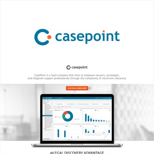 Logo for casepoint