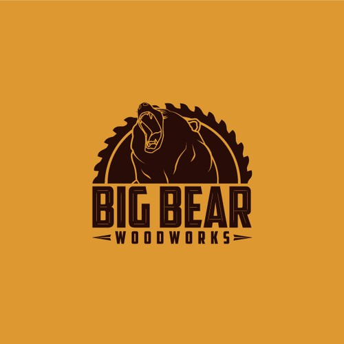 Big Bear Woodworks needs a Logo to be proud of.
