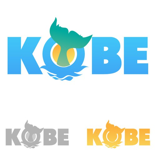 Create the next logo for Kobe (based on the city in Japan, not the basketball player or beef)