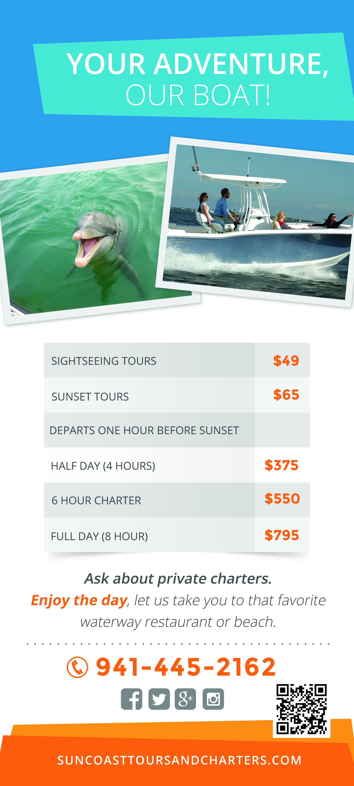 Suncoast Adventure Tours and Charters